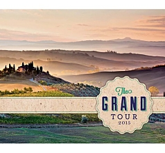 The Grand Tour Wall Calendar 2015