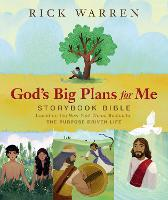 God's Big Plans for Me Storybook...