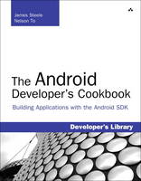 The Android Developer's Cookbook:...