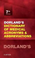 Dorland's Dictionary of Medical...
