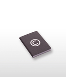 Copyright Black Notebook Small