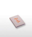 This Is For You Orange Notebook Small