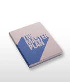 The Master Plan Blue Notebook Large