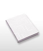 Labyrinth Mirror Notebook Large