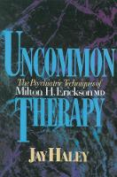 Uncommon Therapy: Psychiatric...