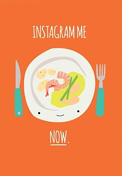 Instagram Me Now Greeting Card