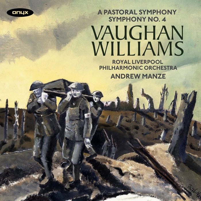 Vaughan Williams Symphonies 3 4 Manze