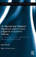 On Abstract and Historical Hypotheses...