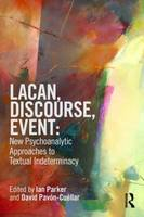 Lacan, Discourse, Event: New...