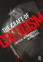 The Craft of Criticism: Critical ...
