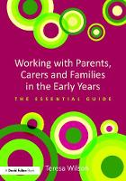 Working with Parents, Carers and...