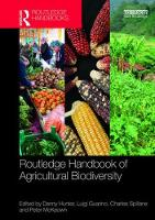 Routledge Handbook of Agricultural...