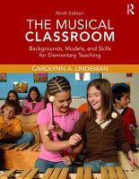 The Musical Classroom: Backgrounds,...