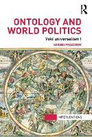 Ontology and World Politics: Void...
