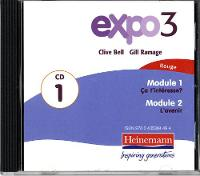 Expo 3 Rouge Audio CDs (Pack of Three)