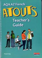 Atouts - A2 French - Teacher's guide...