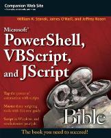 Microsoft PowerShell, VBScript and...