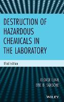 Destruction of Hazardous Chemicals in...