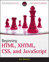 Beginning HTML, XHTML, CSS, and...