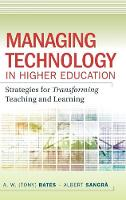 Managing Technology in Higher...