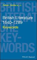 British Literature 1640-1789: Keywords
