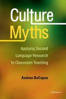 Culture Myths: Applying Second...