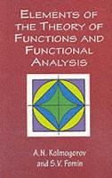 Elements of the Theory of Functions...