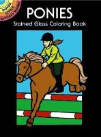 Ponies Stained Glass Coloring Book