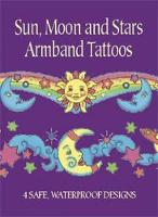 Sun, Moon and Stars Armband Tattoos