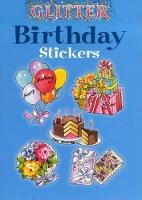 Glitter Birthday Stickers