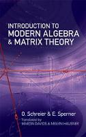 Introduction to Modern Algebra and...