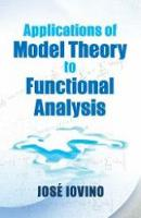Applications of Model Theory to...