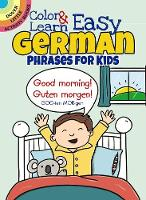 Color & learn: easy German phrases ...