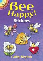 Bee Happy! Stickers