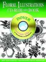 Floral Illustrations CD-ROM and Book...