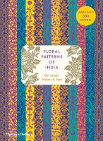Floral Patterns of India: Sticker &...