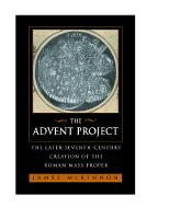 The Advent Project: The Later...