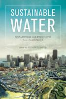 Sustainable Water: Challenges and...
