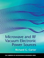 Microwave and RF Vacuum Electronic...