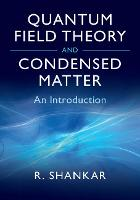 Quantum Field Theory and Condensed...