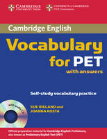 Cambridge Vocabulary for PET with...