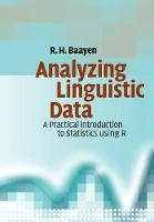 Analyzing Linguistic Data: A ...
