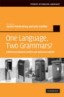 One Language, Two Grammars?:...