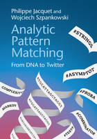 Analytic Pattern Matching: From DNA ...