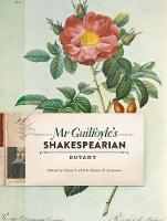 Mr Guilfoyles Shakespearian Botany