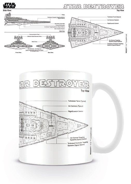Star Destroyer Sketch Mug