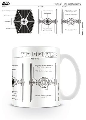 Tie-Fighter Sketch Mug