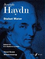Stabat Mater: (Vocal Score)