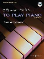 It's Never Too Late to Play Piano: A Learn as You Play Tutor with Interactive CD