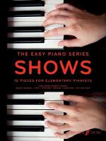 The Easy Piano Series: Shows
